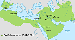 Dinastia Omeia 661-750