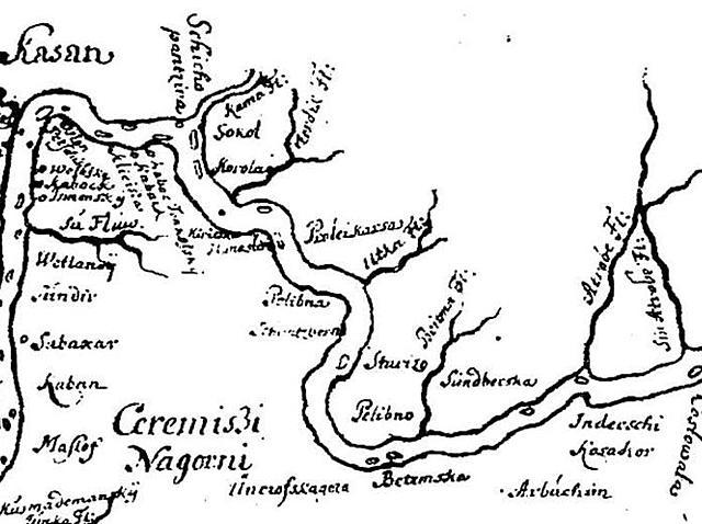 Сооружение Симбирской засечной черты (Симбирск-Карсун-Саранск-Тамбов)и постройка крепости Симбирск