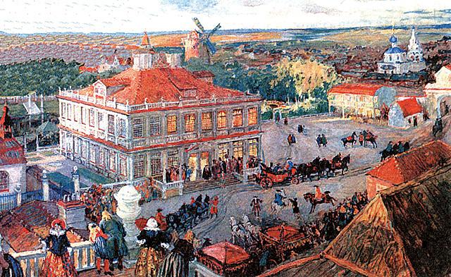Основание немецкой слободы в Москве