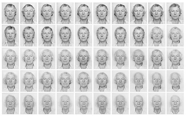 """Prof - Le temps / Roman Opalka - """"1965, 1 - l'infini"""" (art conceptuel)"""