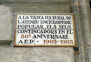 Creació de l'Ateneu Català i Publicació de la llei d'abulició