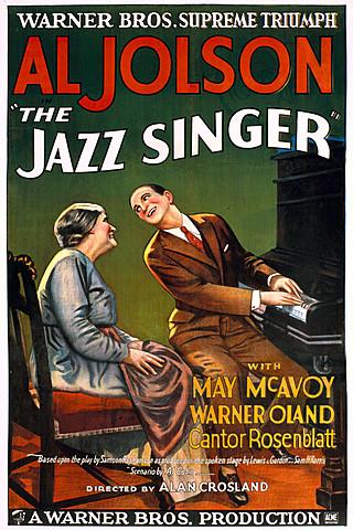 """Prof - La narration figurée, association avec la voix / Alan Crosland - """"Le chanteur de jazz"""" (long métrage de 1h28')"""