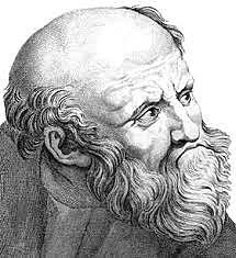 Enpedokles ( K.a. 490 - K.a. 430)
