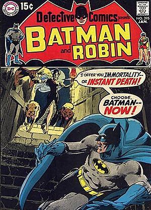 Комикс «Detective Comics #395»