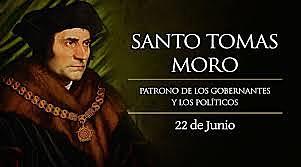 Tomas Moro (Londres, Ingalaterra, 1478ko otsailaren 7a – 1535eko uztailaren 6a)