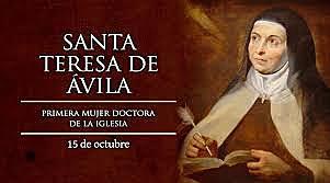Teresa de Cepeda y Ahumada (Gotarrendura, Regne de Castella, 28 de març 1515 - Alba de Tormes, 4 d'octubre de 1582),