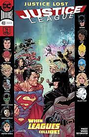 Комикс «Justice League #40»