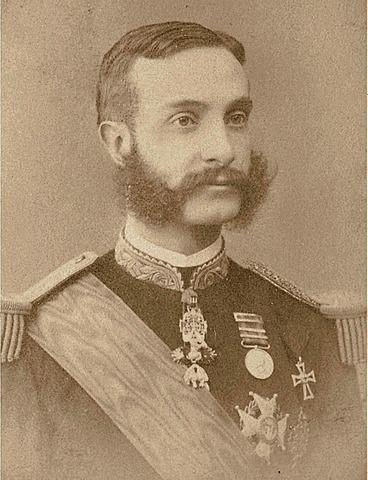 Mort de Alfons XII