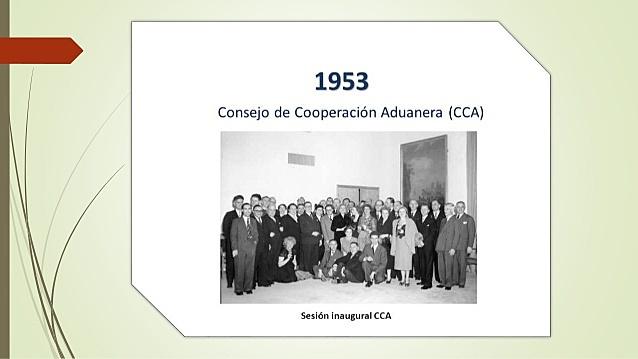 Creación del Consejo de Cooperación Aduanera (Actualmente OMA)