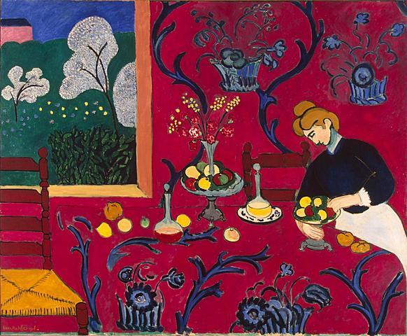 """""""La habitación roja"""" Matisse"""