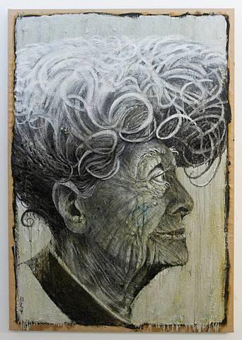 """Bovero - Le temps / Ali Zülfikar Doğan """"New generation"""" (198x139,7) Satchi art"""