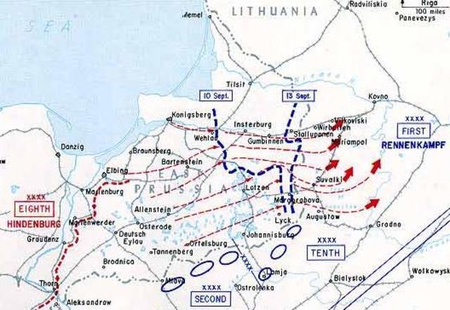 Battle of the Masurian Lakes