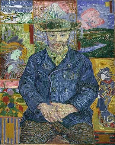 """Nº 12 """"Retrato de Pere Tanguy"""" Van Gogh"""
