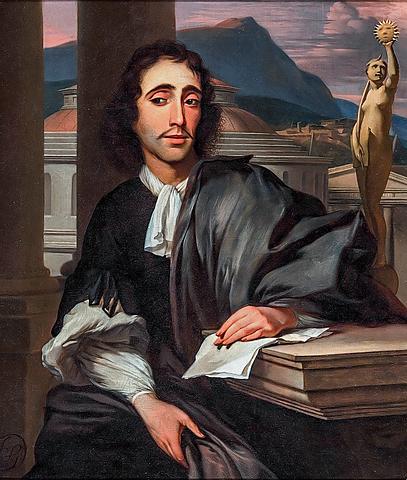 Baruch Spinoza Amsterdamen jaio zen 1632ko azaroaren 24an, eta Haga hirian hil zen, 1677ko otsailaren 21an