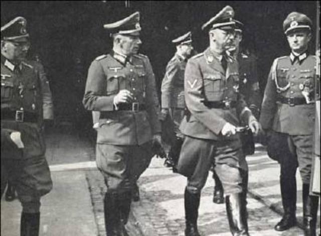 Gestapo established.