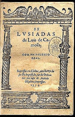"Camoens; ""Los lusiadas"""