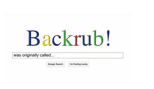 Nace BackRub