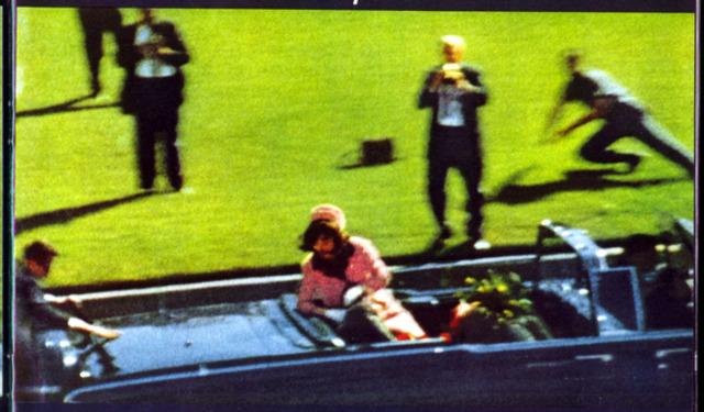 22 november 1963 President John F Kennedy 1961-1963, shot dead