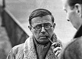 Jean-Paul Charles Aymard Sartre (Parisen jaio zen, 1905eko ekainaren 21.an eta 1980ko apirilaren 15.an hil zen)
