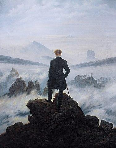 Nº 1 El caminante sobre el mar de nubes