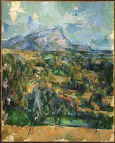 Nº 7 Montagne Sainte Victoire Cézanne 1904