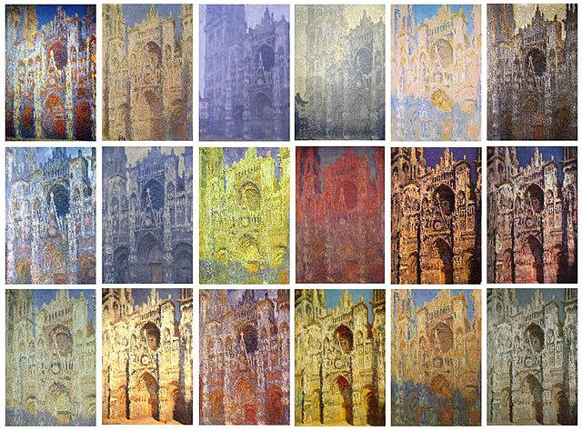 Nº 9 Series de la Catedral de Rouen Claude Monet