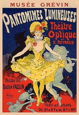 Nº 15 Pantomimes Lumineuses Jules Cheret
