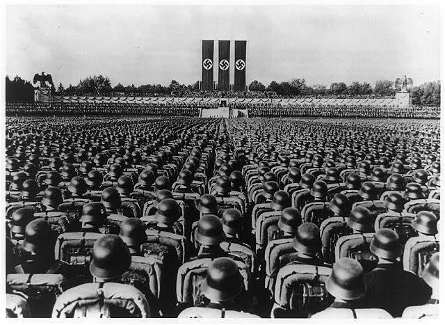 Germany renews conscription, in violation of Versailles treaty.