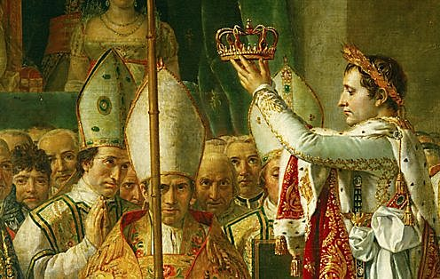 Napoleon named Emperor of the French Empire.