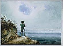 Napoleon is exiled in Elba.