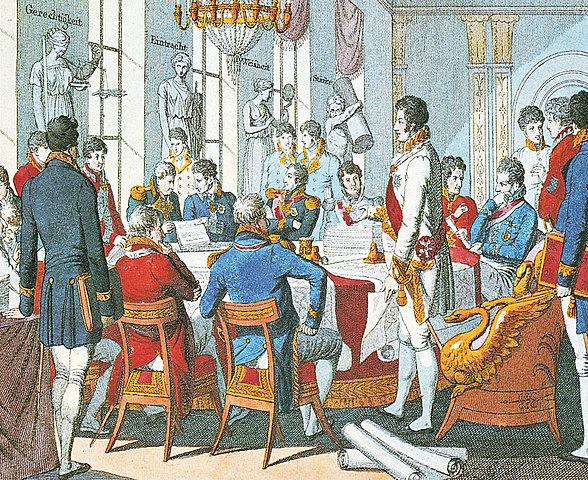 Santa alleanza e fine Congresso di Vienna