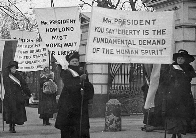 Picketing of the White House