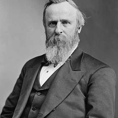 President Rutherford B Hayes timeline