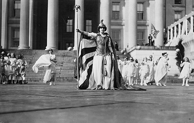 The Suffrage Parade