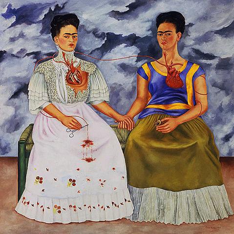 Nº 28.2.     Las dos Fridas Frida Kahlo