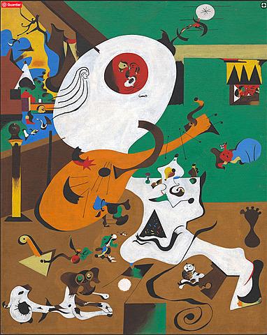 Nº 29 Interior Holandés 1928, Joan Miró