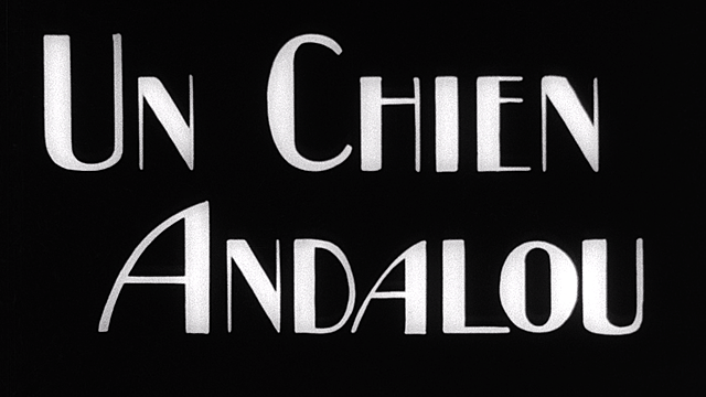 Nº 30 Un chien Andalou , Un perro andaluz, Luis Buñuel y Dalí