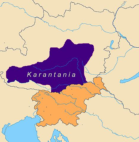 Επίθεση Αβάρων στην Καραντανία - Βαυαρική Παρέμβαση