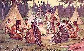 English Battles Iroquois
