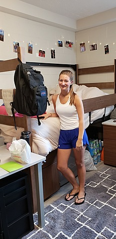 Moved into College!