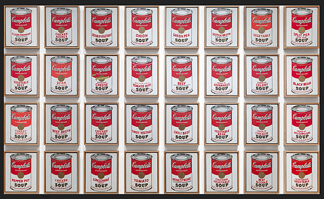 Nº 45 Campbell's Soup Cans, 1962 Andy Warhol