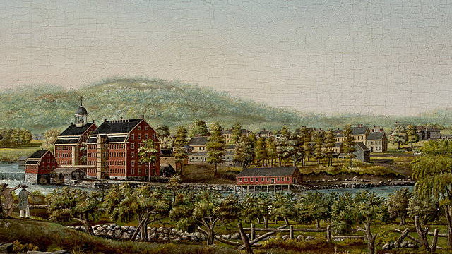 Francis Cabot Lowell brings textile mills to America