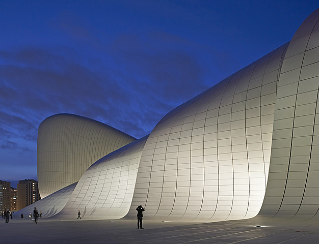 Nº 47 Centro Cultural Heydar Aliyev, Bakú (Azerbaidjan), 2013 ZAHA HADID