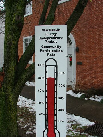 New Berlin residential participation reaches 85%