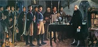 1ª etapa de 1810 a 1814-15: