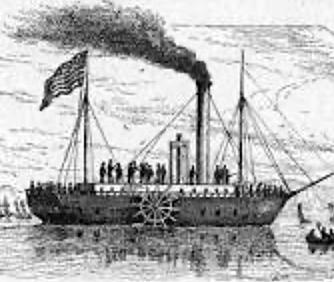 Primer barco de vapor
