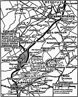 La bataille de Neuve-Chapelle (1915)