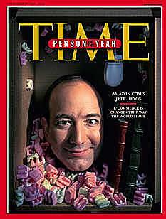 Jeff Bezo hombre del año según Times