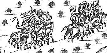 Сибирский хан Кучум, пришедший к власти в 1563 году, стал наращивать своё влияние внутри региона.