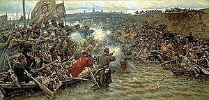 26 октября 1582 года атаман Ермак Тимофеевич занял Кашлык — тогдашнюю столицу Сибирского ханства.